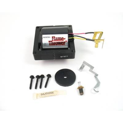 Ignition & Electrical - Ignition Coils - Pertronix Performance Products - Pertronix D3000 Flame-Thrower 50kV Volt Performance HEI Coil Red/Yellow Wire