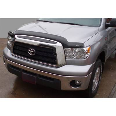 Stampede Automotive Accessories - Stampede 2323-2 Smoke 12-15 Toyota Tacoma Hood Protector Deflector Bug Shield
