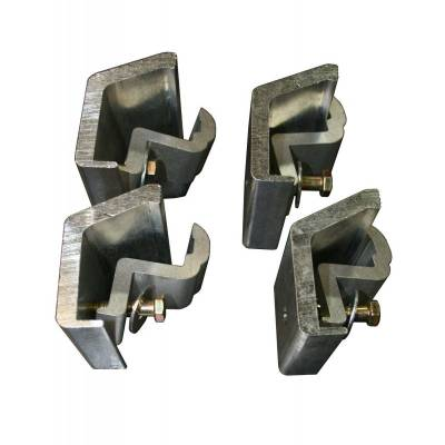 Exterior - Truck Bed Accessories - TruXedo - TruXedo 1117458 TonneauMate Clamp Kit 2007-2013 Silverado Sierra w/Track System