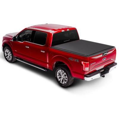 Truck Accessories - TruXedo - 'TruXedo 1446801 ProX15 Lo-Pro Tonneau Cover 07-18 Toyota Tundra w/ Track 8'' Bed'
