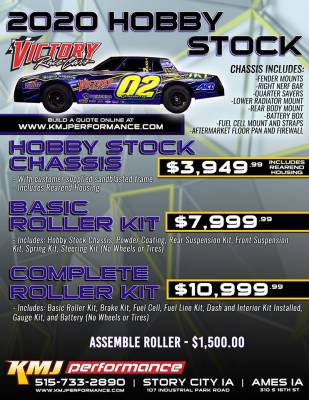 Hobby Stock  - Victory Racecars Hobby Stock Build Quote  - Victory - Victory Race Cars Hobby Stock Chassis