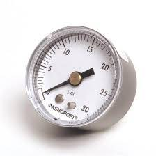 Fuel System & Components - Fuel Pressure Gauges - Quick Fuel Technologies - 0-15psi Fuel Pressure Gauge