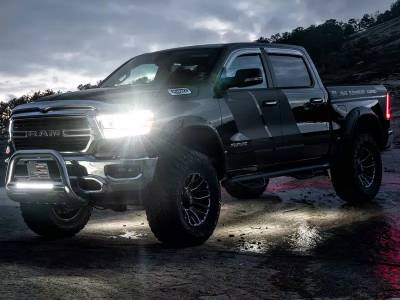 Lighting - Off Road Lighting - Lund International - Lund 54302 NightFX Guide Lights 2018-2020 RAM 1500 2500 3500