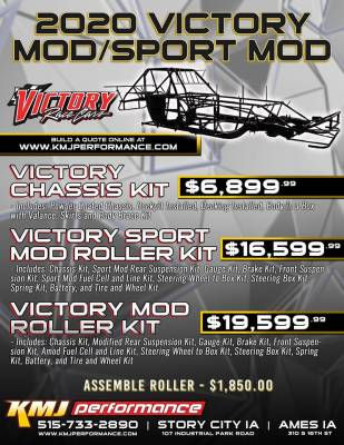 Modifieds & SportMods - Victory Racecars Modified Build Quote  - Victory - Victory Race Cars Modified or Sport Mod Chassis
