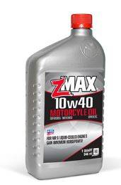 Oil, Fuel, Fluids, & Cleaners - Engine Oil - Z-Max - Z-Max 10w-40 Full Synthetic Motorcycle Oil