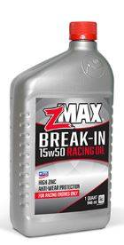 Oil, Fuel, Fluids, & Cleaners - Engine Oil - Z-Max - Z-Max 15w-50 Break-in Racing Oil