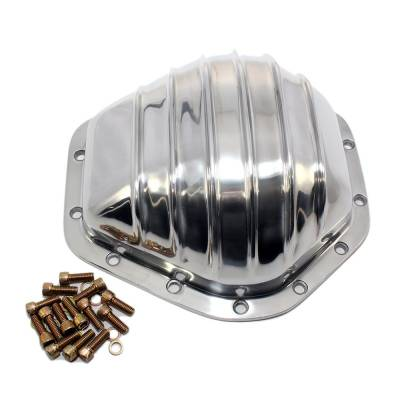 Transmissions, Rearends, & Gears  - Differential Covers - Assault Racing Products - 73-95 Chevy Truck 14 Bolt Polished Aluminum Differential Cover 3/4 Ton C K 2500