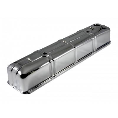 Valve Covers & Accessories - Street Valve Covers  - Assault Racing Products - Chevy Straight 6 Inline Six Cylinder 316 Chrome Steel Valve Cover 1942-1953