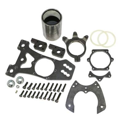 Suspension & Shock Components - Birdcages & Parts - Precision Racing Components - PRC 7026-L 4 Bar Birdcage W/ Brake Bracket