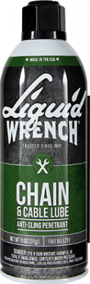 Liquid Wrench - Liquid Wrench Chain & Cable Lube Case 12/11oz