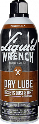 Liquid Wrench - Liquid Wrench Dry Lubricant Case 12/11oz