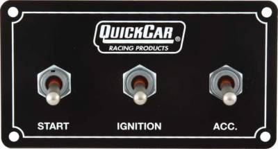 Ignition & Electrical - Battery & Electrical Accessories, Connectors, Relays & Fuses - Quick Car - QuickCar 50-711 Extreme Ignition Control Panel for Dual Harness Water Proof