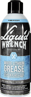 Liquid Wrench - Liquid Wrench White Silicone Grease Case 12/10.25oz