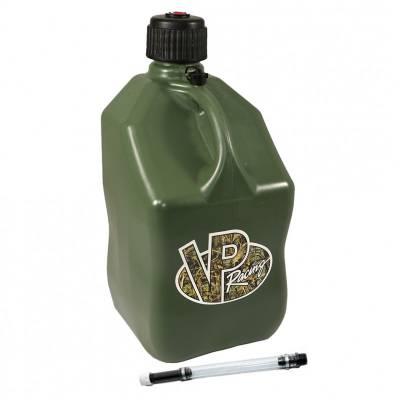 Tools, Shop & Pit Equipment - Fuel Jugs - VP Racing Fuels - VP Racing 5 Gallon Square Fuel Jug + 1 Filler Hose