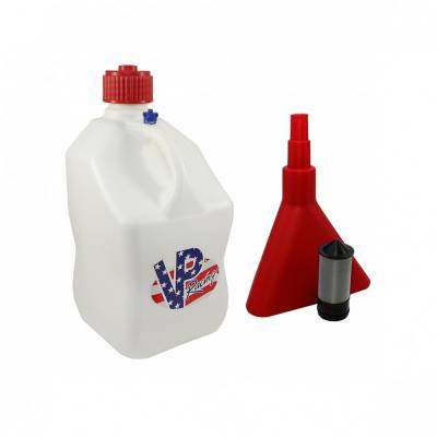 Tools, Shop & Pit Equipment - Fuel Jugs - VP Racing Fuels - VP Racing Square 5 Gallon Fuel Jug with Funnel and Filter