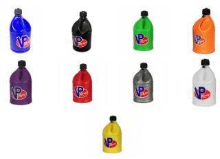 Tools, Shop & Pit Equipment - Fuel Jugs - VP Racing Fuels - VP Racing Round Racing Fuel Jug 5 Gallon
