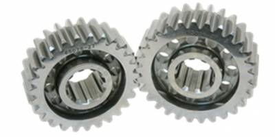 Quick Change Gears - Polished Lightweight Gears - PEM Racing - PEM RACING Polished LightWeight Quick Change Gear Sets