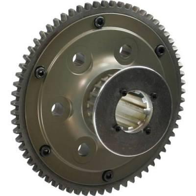 Transmissions, Rearends, & Gears  - Transmissions & Accessories - Brinn Inc. - Brinn Aluminum Flywheel - HTD - Ford - 2.83 lbs.