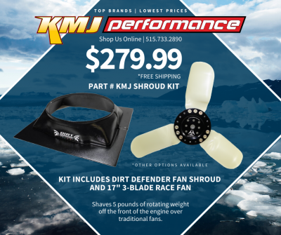 Cooling - Fans - KMJ Performance Kits - Dirt Defender Fan Shroud and Race Fan Kit