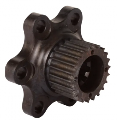 Transmissions, Rearends, & Gears  - Transmissions & Accessories - Bert - Bert steel coupler with HTD hub