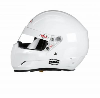 Helmets - Bell Helmets - Bell Racing - Bell SA2015 Vador | WHITE- Small
