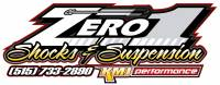 "Zero 1 Shocks  - Zero 1 Custom Valved Genesis 7"" Right Front Extreme Hold Down for IMCA Modified"