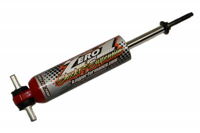 Zero 1 Shocks  - Zero 1 Custom Valved QA1 Right Front Dry Slick for IMCA Hobby Stock
