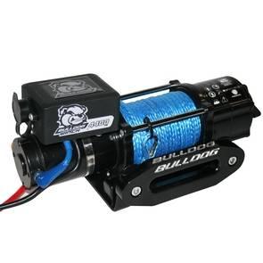 Bulldog Winch 15020 4400lb Trailer / Utility Winch / Synthetic Rope