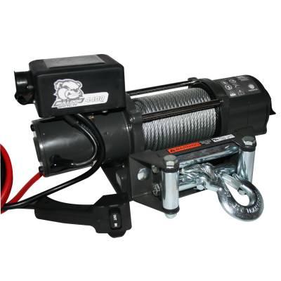 Bulldog Winch 15019 4400lb Trailer / Utility Winch / Wire Rope