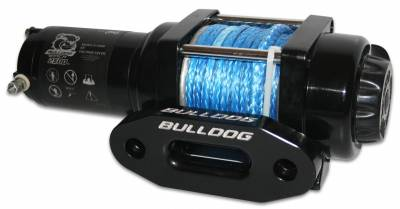 Truck Accessories - BullDog Winch - Bulldog Winch 15014 2500lb ATV Winch w/synthetic rope