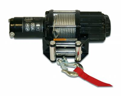 Truck Accessories - BullDog Winch - Bulldog Winch 15005 3500lb Utility Winch Wired Rope
