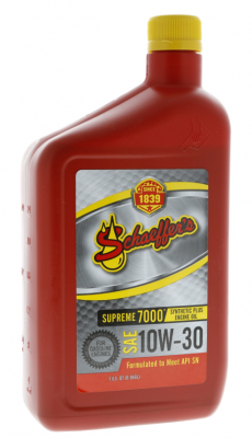 Oil, Fuel, Fluids, & Cleaners - Engine Oil - Schaeffer's Oil - 'Schaeffer''s 709 Supreme 7000 10W30 Para Sythetic Plus - 1 Quart