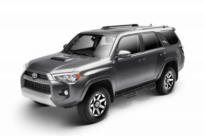 N-Fab - N-FAB T1464R Nerf Step 2014-2020 Toyota 4 Runner Non-Limited Textured Black