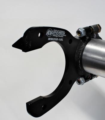 Wehrs Machine WM200-18L LR Metric Caliper Bracket Welded