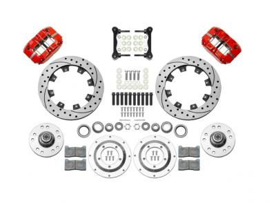 Brake & Clutch Assemblies - Wilwood - Wilwood 140-15909-DR AFX Front Brake Kit 11.75 Inch Drilled Rotor