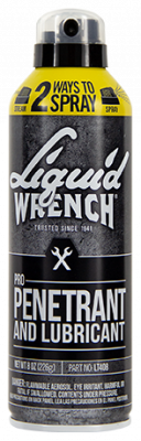Liquid Wrench - Liquid Wrench Pro Penetrant and Lubricant with Twist Cap 8oz - LT408