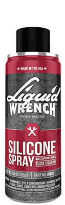 Tools, Shop & Pit Equipment - Cleaners  and Sprays - Liquid Wrench - Liquid Wrench Silicone Spray 11oz - M914