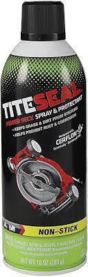 Tools, Shop & Pit Equipment - Cleaners  and Sprays - TiteSeal - Tite-Seal Mower Deck Spray and Protectant 10 oz - MDS11/6