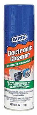 Tools, Shop & Pit Equipment - Cleaners  and Sprays - Gunk - Gunk Electronic Contact Cleaner 6oz. - NM6