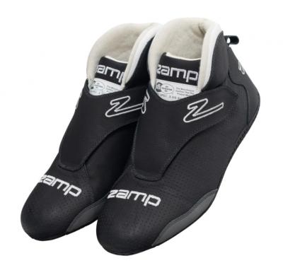 Zamp ZR-60 SFI 3.3/5 Race Shoes Black Size 12 RS00400312